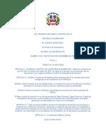 Ley 6142 Organica Del Banco Central de La