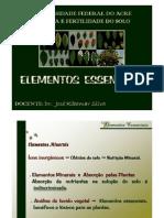Unidade 3 Elementos Essenciais