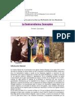 11. La Contrareforma. Conceptos. 2012