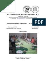 Boletín Rotario del 26 de marzo de 2013