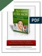 Introduccion La Suerte de Ser Miope