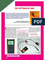 Medidor Potencia Laser