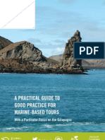 A Practical Guide to Good Practice for Marine-Based Tours With a Particular Focus on the Galapagos