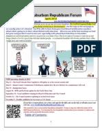 NSRF April 2013 Newsletter