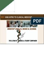 IVMS ICM Physical Exam Checklist