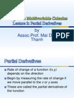 L5 Partial Derivatives