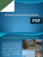 1. Introduccion Der. Minero