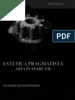 Richard Schusterman - Estetica Pragmatista