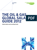 Hays Oil & Gas Salary Guide (2012)