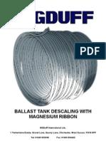 Ballast Tank Descaling [1]