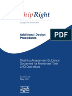 LR Sloshing Assessment Guidance Document Form Membrane Tank LNG Operations (V2 0) May 2009