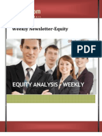 Weekly Newsletter-equity 08april2013