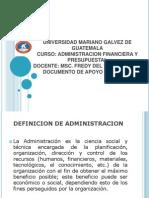 Presentacion Administracion Financiera Fredy
