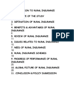 Introduction to Rural Insurance