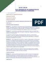 LEY 110 Del 92 Regimen de Las Franquicias Diplomatica y Cons