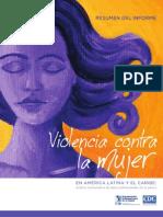 Informe OPS Violencia Contra Las Mujeres 2013