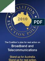 Broadband and Telecommunications Policy