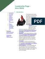 Presentation Method