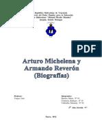Arturo Michelena y Armando Reverón