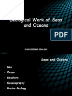 Geological Work of Oceans and Seas