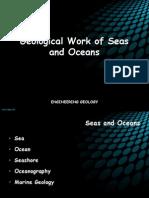 Geological Work of Oceans and Seas