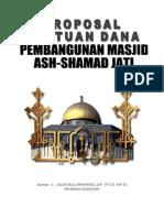 Proposal Masjid Jadi 2003