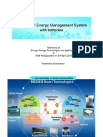 Function of Energy Management System With Batteries - Hiroshi Morita