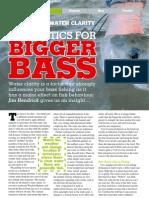 Fly Fishing Tactics for Bigger Bass - P1