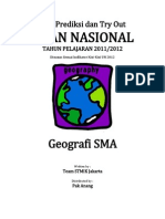 Soal Try Out Un 2012 Sma Geografi