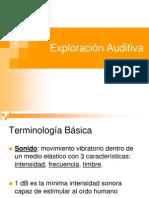 Exploración Auditiva