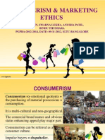 Consumerism and Marketing Ethics