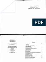 UT Flaw Detection for Technicians by J.C.drury