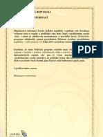 Vládní prohlášení k realizaci Politického programu na řešení krize
