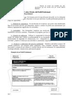 Nivel de Competencia. La visión del INET sobre Niveles del Perfil Profesional