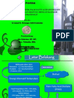Biofuel dari PFAD katalis CoMo/zeolit