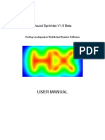 Sound Sprinkles V1.0 Beta User Manual
