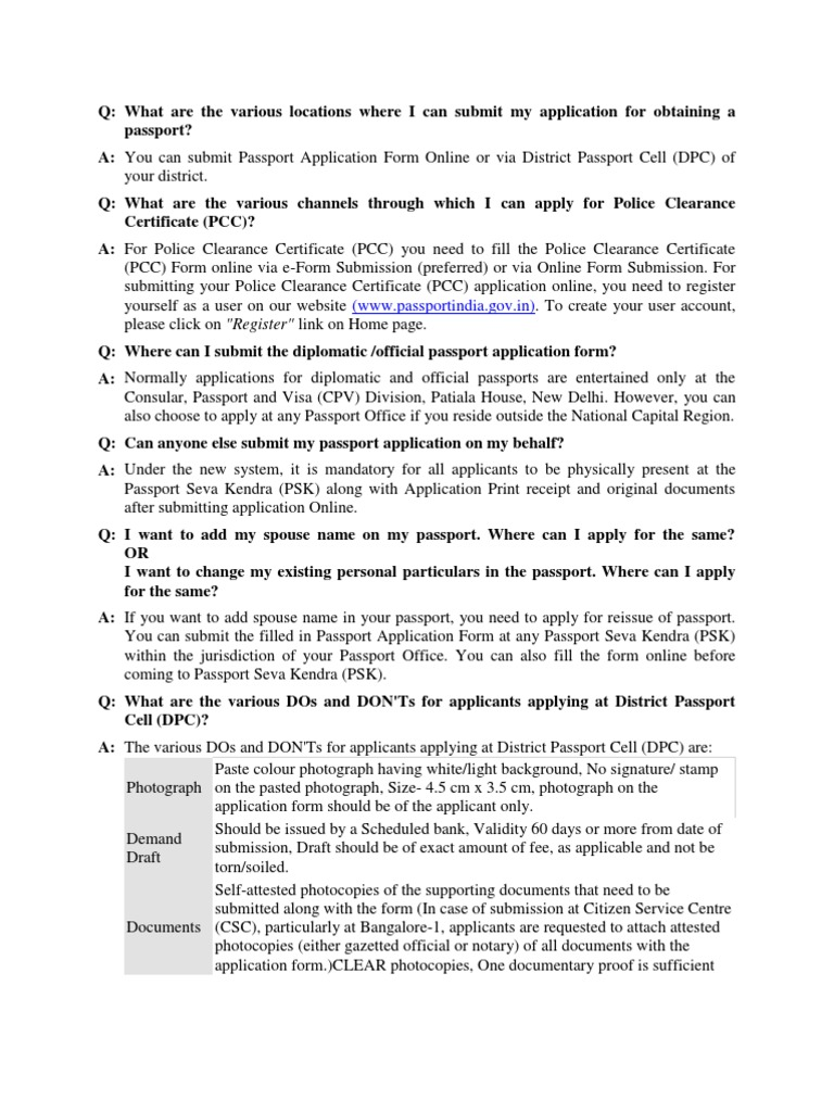 Faq identity document passport falaconquin