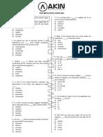 KPDS Sınavı (1994-Mayıs)