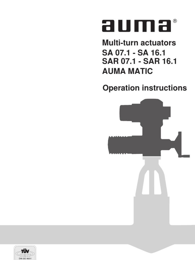 Auma Matic Electrical Connector Switch Actuators Wiring Diagram