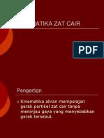Kinematika Zat Cair