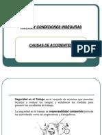 Actos y Condiciones Inseguras (Soporte Cap)
