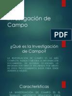 Investigación de Campo POWER