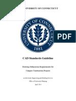 UConn CAD Standards Guideline-April2011
