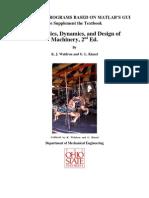 Kinematics, Dynamics, And Design