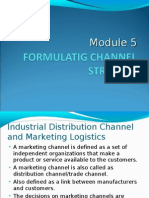 Formulatig Channel Strategy