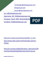 Linkuri Utile, Grupuri Pt Inscriere