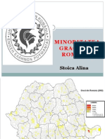Minoritatea Greaca Din Romania -Stoica Alina