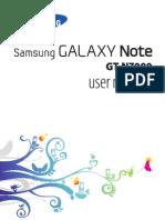 Samsung Galaxy-note Usermanual