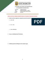 Resolucion Del Primer Examen Parcial de Quimica Organica