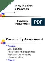 Community Health Nursing Process